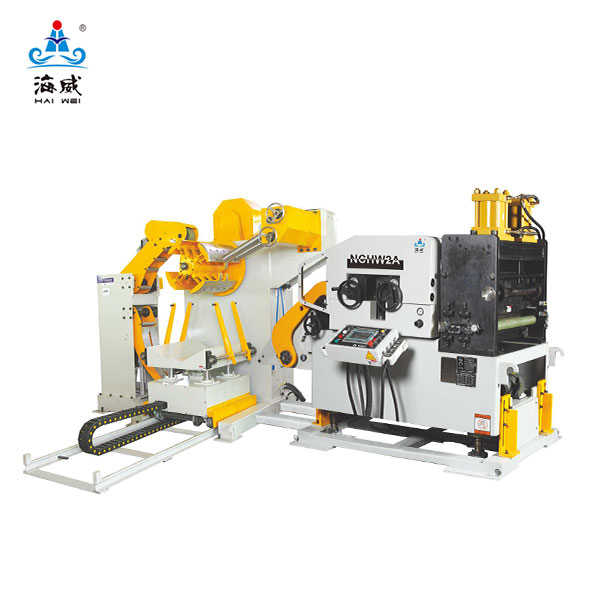 3 in 1 Decoiler Straightener Feeder NCHW2A (stock thickness 0.5~4.5mm)