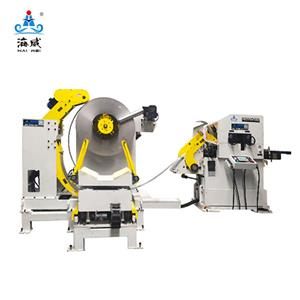 3 in 1 Decoiler Straightener Feeder NCHW3B (stock thickness 1.0-6.0mm)
