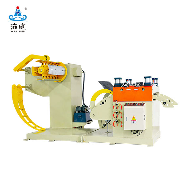Hydraulic Press feed 2 in 1 Decoiler Straightener