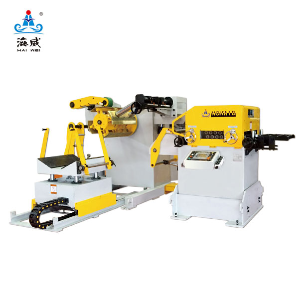 Hydraulic 3 In One Decoiler Straightener Feeder